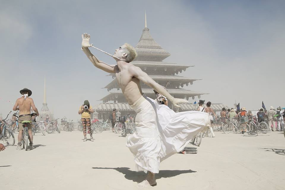 Fleeting Butoh performance