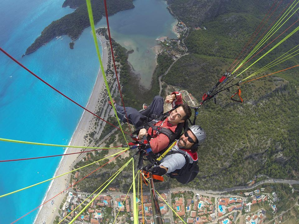 Paragliding oduleniz beach
