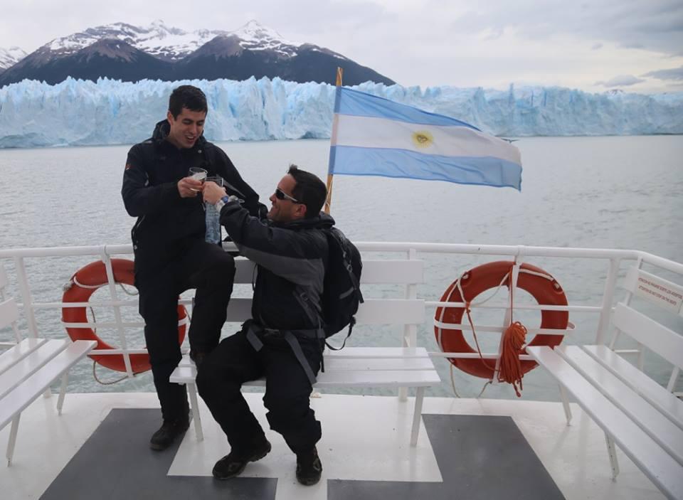 Boat to Perito Moreno El Calafate