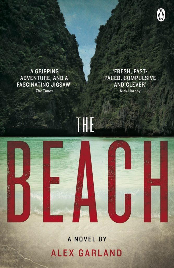Books to read when traveling- The Beach by Alex Garland