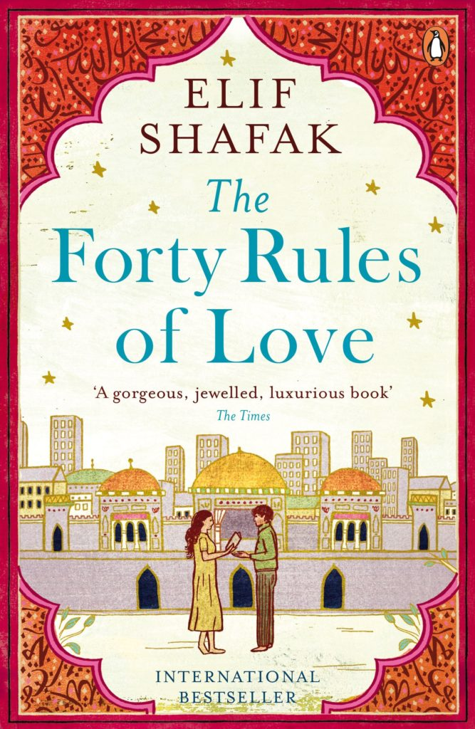 Books to read when traveling- 40 Rules of Love by Elif Shafak