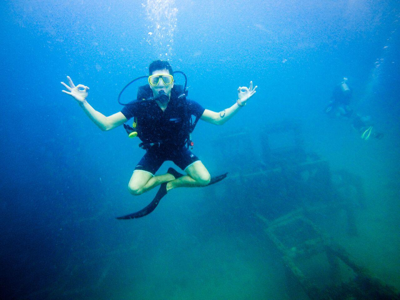 Underwater in Koh Phi Phi