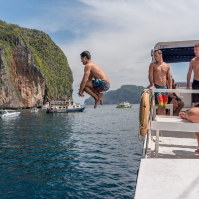 Diving into my fears in Koh Phi Phi